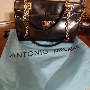 Antonio Melanie Leather Handbag
